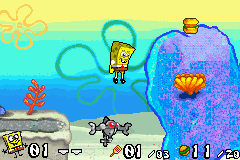 SpongeBob SquarePants - Battle for Bikini Bottom - Friendly robot - User Screenshot