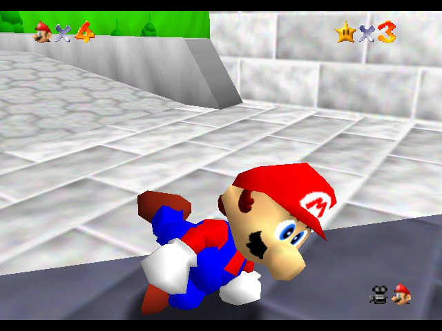 Super Mario 64 - Level  - Break Dance! - User Screenshot
