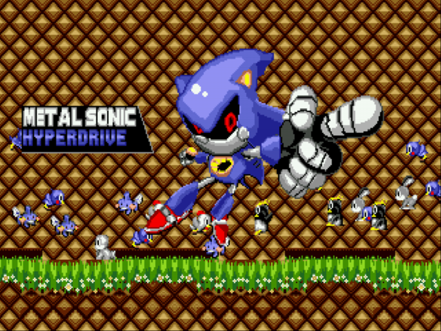 Metal Sonic Hyperdrive - Finish!! - User Screenshot