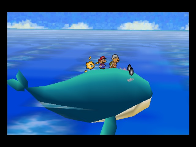Paper Mario - Cut-Scene  - Too the volcano - User Screenshot