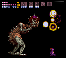 Super Metroid - Metroid baby NOOOOO!!!!!!!!! - User Screenshot