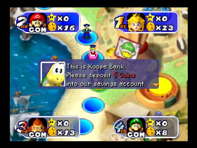Mario Party 2 - no get you