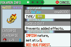 Pokemon Flora Sky - Level  - My first shiny!!!! :D - User Screenshot