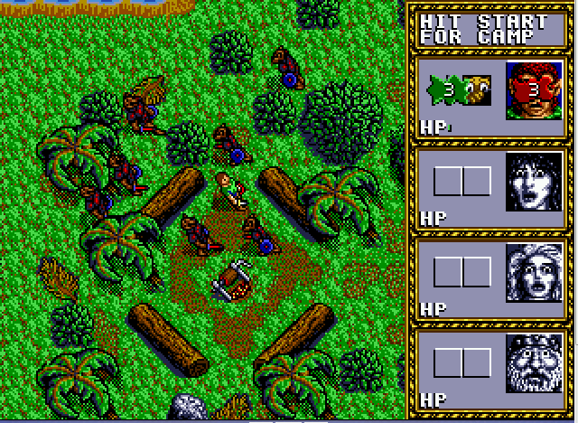 Dungeons & Dragons - Warriors of the Eternal Sun - game play 2 - User Screenshot