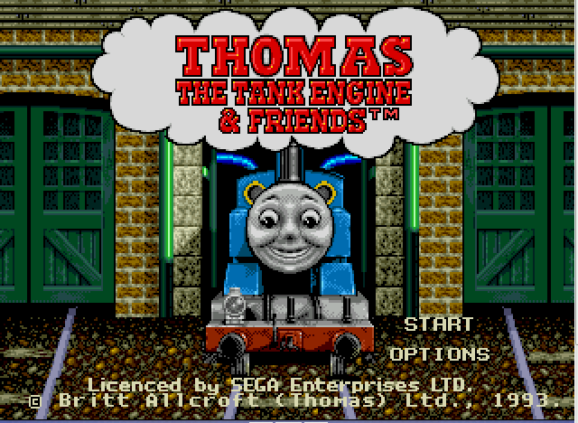 Thomas the Tank Engine and Friends - title - User Screenshot