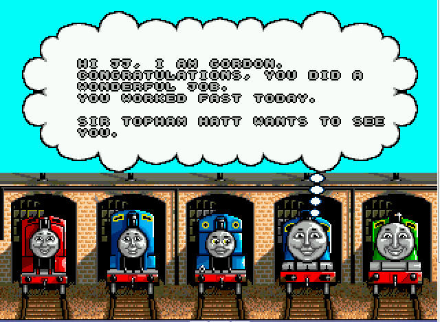 Thomas the Tank Engine and Friends - game play 2 - User Screenshot