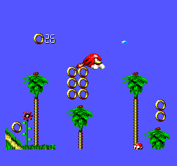 Sonic Blast - knuckles gameplay - User Screenshot