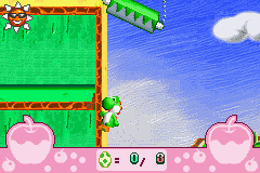 Yoshi - Topsy-Turvy - walking upwalls - User Screenshot