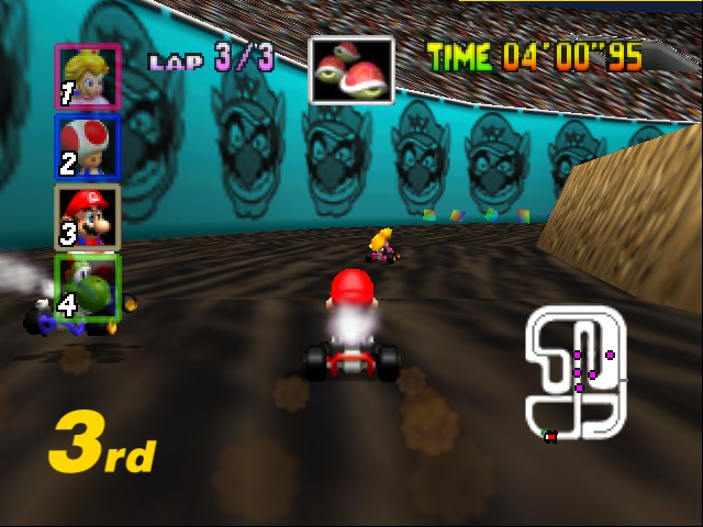 Mario Kart 64 - THESE 2 R SCREWED - User Screenshot