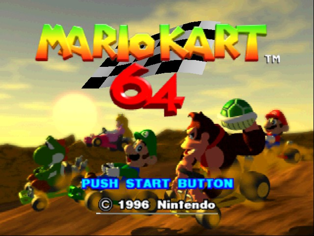 Mario Kart 64 - who got this yet!!? - User Screenshot