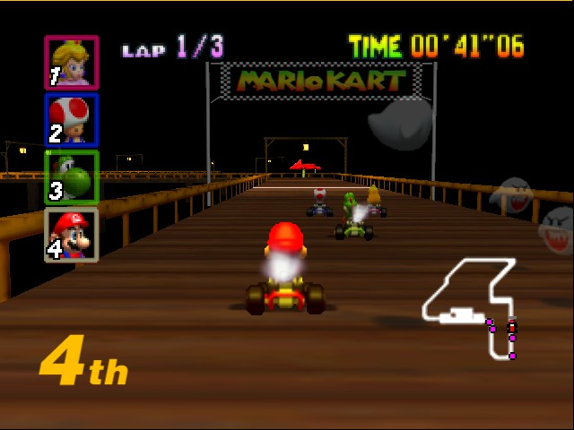 Mario Kart 64 - what the hell is all this?!! - User Screenshot