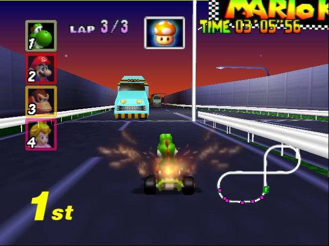 Mario Kart 64 - WHO HOTTER THAN ME? >:D - User Screenshot
