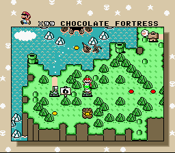 Super Mario World - Level Select  -  - User Screenshot