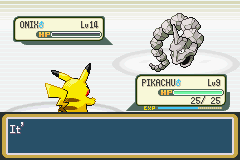 Pokemon Ash Gray (beta 3.61) - Defeated Brock second time - User Screenshot