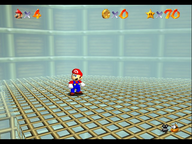 Super Mario 64 - Level Tick Tock Clock - What time is it - User Screenshot