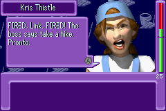 Urbz, The - Sims in the City - But why would Zelda fire me - User Screenshot