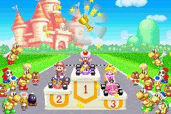 Mario Kart - Super Circuit - Cut-Scene  - Victory!! - User Screenshot
