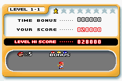 Mario vs. Donkey Kong - The highest score I