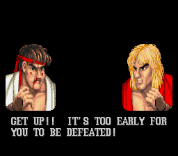 Street Fighter II - The World Warrior - Gameover  - Me loser! - User Screenshot