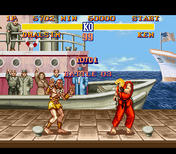 Street Fighter II - The World Warrior - Level  - Battle 3! - User Screenshot