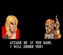 Street Fighter II - The World Warrior - Misc Winning screen - I won! - User Screenshot