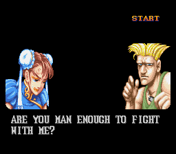 Street Fighter II - The World Warrior - Gameover  - Game over! Again! - User Screenshot