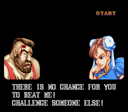 Street Fighter II - The World Warrior - Gameover  - I lost! - User Screenshot