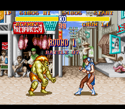 Street Fighter II - The World Warrior - Level  - Battle 7 - User Screenshot