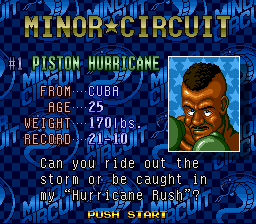 Super Punch-Out!! - Character Profile  -  - User Screenshot