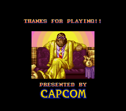 Super Street Fighter II - The New Challengers - Ending  -  - User Screenshot