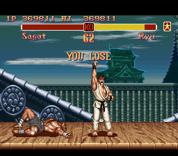 Super Street Fighter II - The New Challengers - Level  -  - User Screenshot