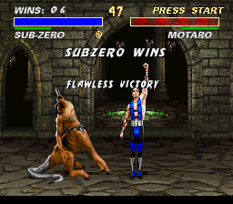 Mortal Kombat 3 - Lika Bauws - User Screenshot