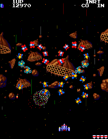Namco Classic Collection Vol.1 - Level  - Galaga - User Screenshot