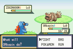 Pokemon Shiny Gold - Battle  - Worse pokemon to have in a nuzlocke - User Screenshot