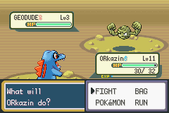 Pokemon Shiny Gold - Battle  - just what i need for a nuzlocke - User Screenshot