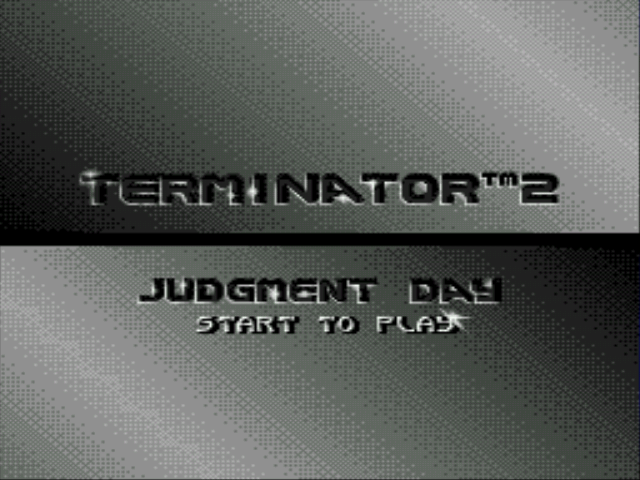 Terminator 2 - Judgement Day - Title Screen - User Screenshot