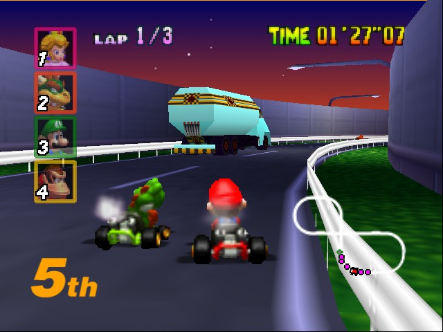 Mario Kart 64 - you better no eat me yoshi - User Screenshot