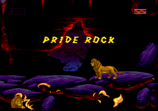 Lion King, The - Level  -  - User Screenshot