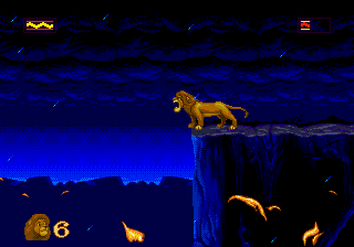 Lion King, The - Cut-Scene  -  - User Screenshot
