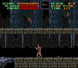 Super Castlevania IV - Oh sh**t - User Screenshot