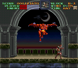 Super Castlevania IV - what the f*** is that?? Mummy im scared!  - User Screenshot