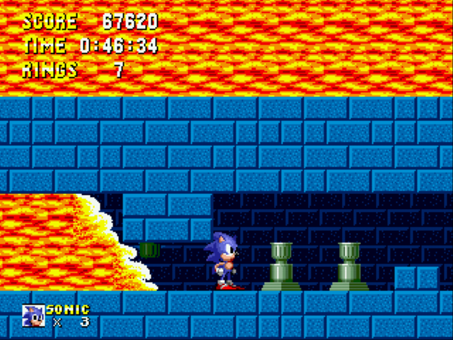 Sonic 1 Megamix - Why So Much Lava? - User Screenshot