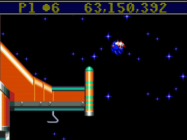 Sonic Spinball - Level  - The far I can go...  - User Screenshot