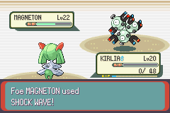 Pokemon Emerald - Battle  - My God ! This Magneton!!!! - User Screenshot