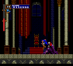 Castlevania - Rondo of Blood (english translation) - Ending  - Kiss my Ass Dracula. - User Screenshot