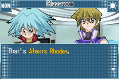 Yu-Gi-Oh! GX - Duel Academy - whats he looking at  - User Screenshot