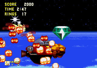 Sonic and Knuckles & Sonic 3 - Ending  - Never thought i would win Legit. - User Screenshot