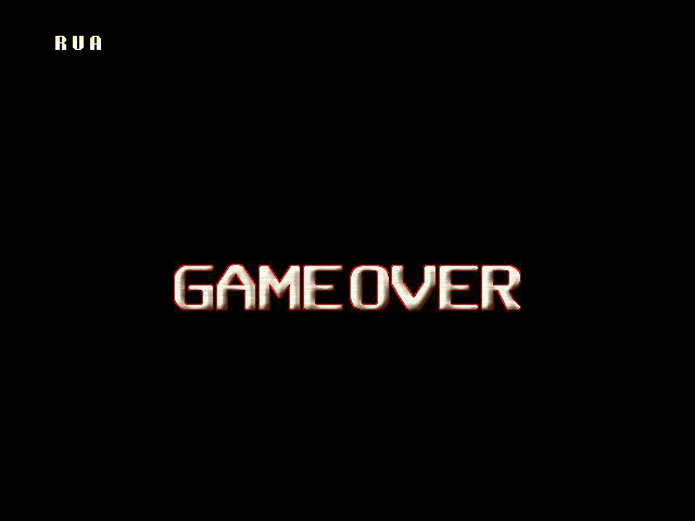 Cannon Spike - Gameover  - GAME OVER - User Screenshot