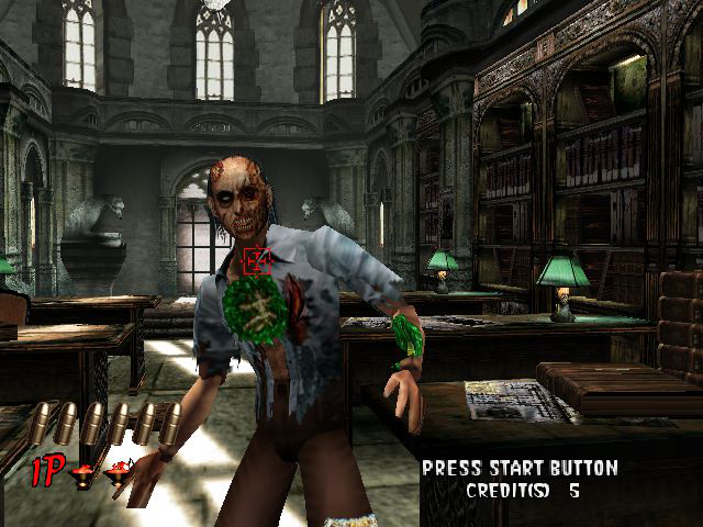 The House of the Dead 2 - Level A prelude - This is only a prelude - User Screenshot