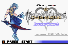Kingdom Hearts - Chain of Memories - Introduction  - Second Title Screen - User Screenshot